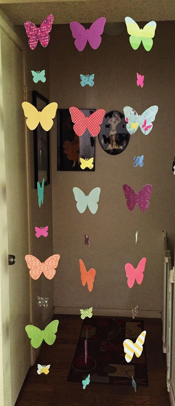 M s de 25 ideas incre bles sobre cortinas decorativas en - Decoracion con mariposas ...