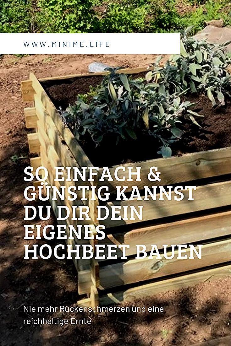 Hochbeet Bauen Easy Und Supergunstig In 2020 Raised Vegetable Gardens Vertical Vegetable Gardens Building Raised Beds
