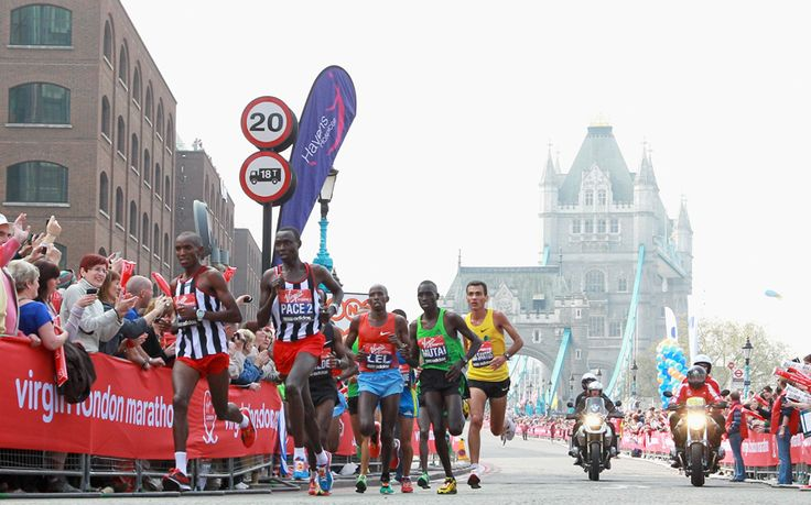 The best ways to track the progress of your friends and relatives as they   negotiate the Marathon route through London
