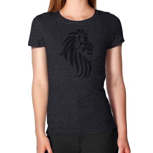 Lion Tribal Tattoo Cool Style Women's T-Shirt