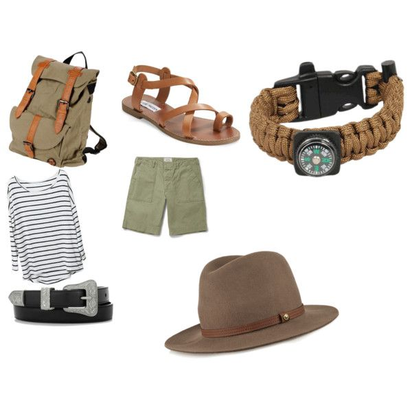 outfit inspired by the Safaris by carlifornia101 on Polyvore featuring polyvore fashion style Steve Madden Ōill Yves Saint Laurent rag & bone Officine Generale