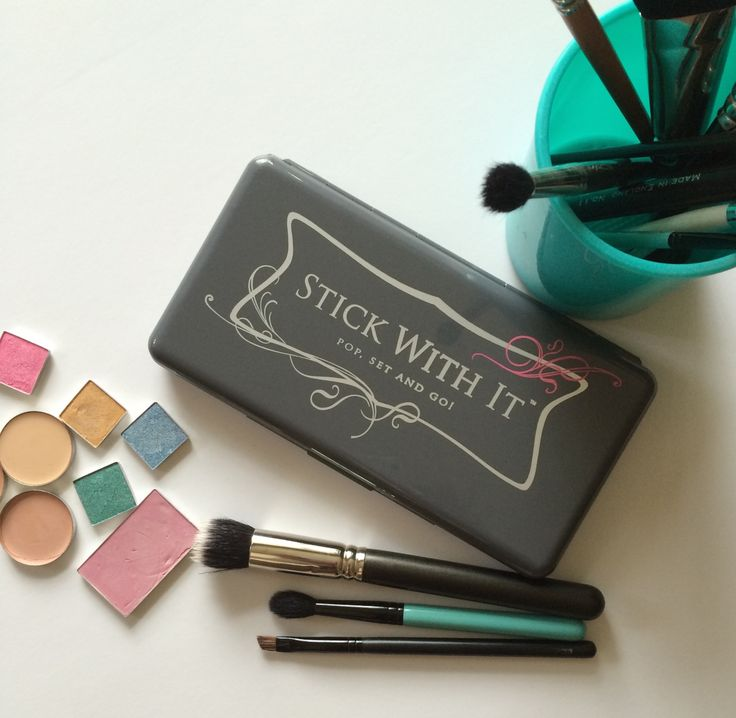 Re-pin it to win it! The Funky Monkey Giveaway: Stick With It Palette! Ends 5/6/15