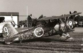 https://flic.kr/p/cPgp55 | Fiat CR.42 (J 11), Swedish Air Force