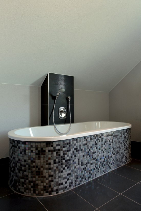 59 best Wohnideen Badezimmer images on Pinterest Bathrooms - badezimmer schwarz weiß