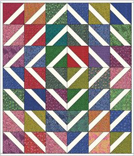 Barbara Brackman's MATERIAL CULTURE: Layer Cakes with Extra Frosting: Free Quilt Pattern