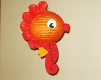 crab Paper Lantern. Party Decorations Baby by nicedecorations