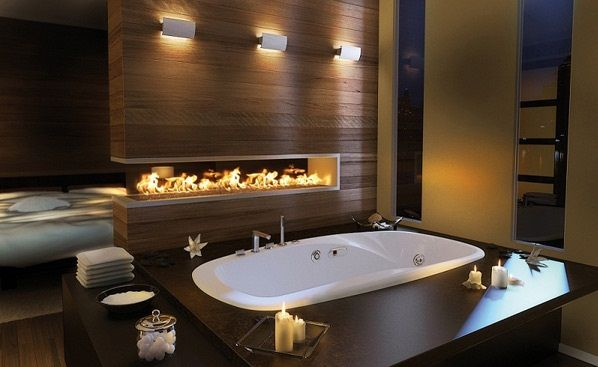 36 Romantic Bathroom Ideas