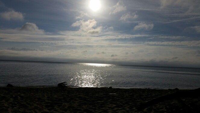 Wschód słońca nad polskim morzem......