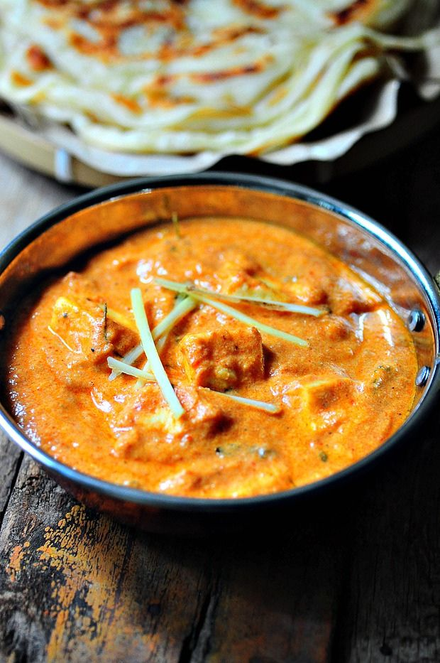 Paneer Butter Masala (Paneer Makhani) | Le goût du Monde | Pinterest