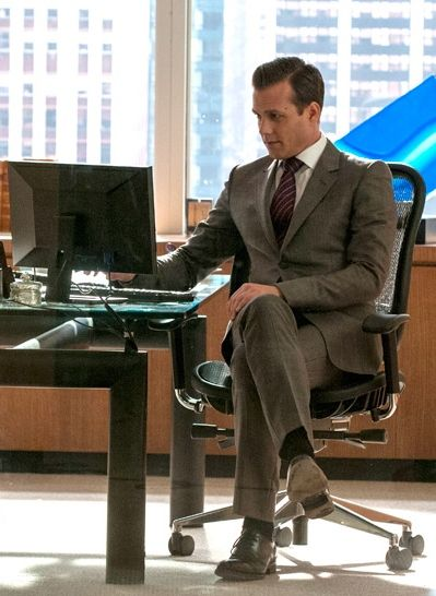 Harvey specter from the usa tv show suits harvey is wearing a