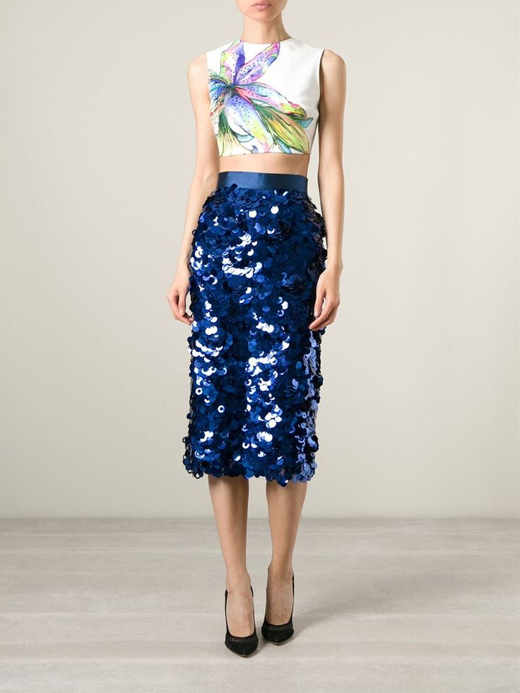 Daizy Shely Paillettes Skirt - Excelsior Milano - Farfetch.com