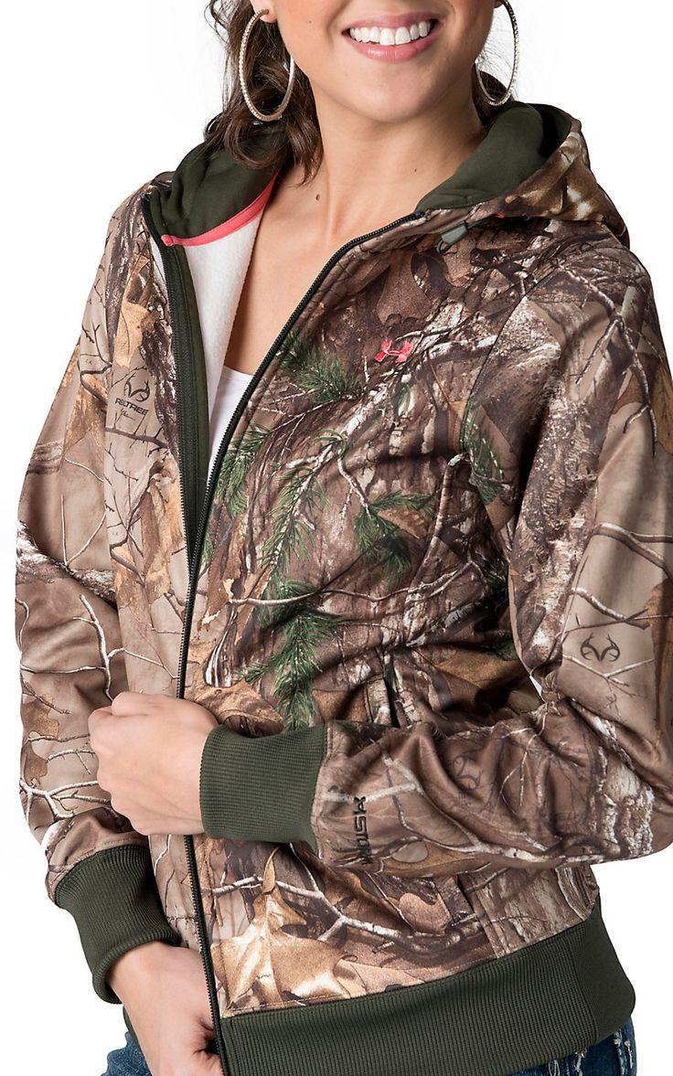 Under Armour® Women's Realtree™ Camouflage Zip Up Hoodie | Cavender's