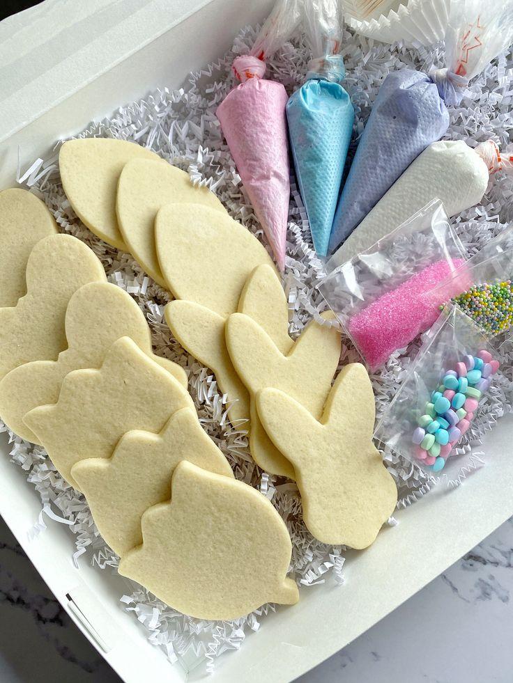 Cookie Decorating Kit, DIY Cookie KitEaster Cookie