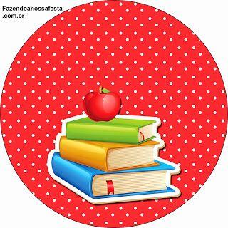 Dia dos Professores - Mini Kit com molduras para convites, rótulos para guloseimas, lembrancinhas,imagens e plaquinhas divertidas!