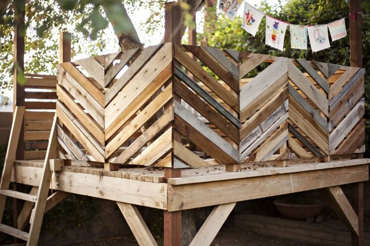 Backyard Treehouse Pediatric Therapy Center :  Therapy, Pallets Trees Houses, Decks Railings, Backyard Treehouse