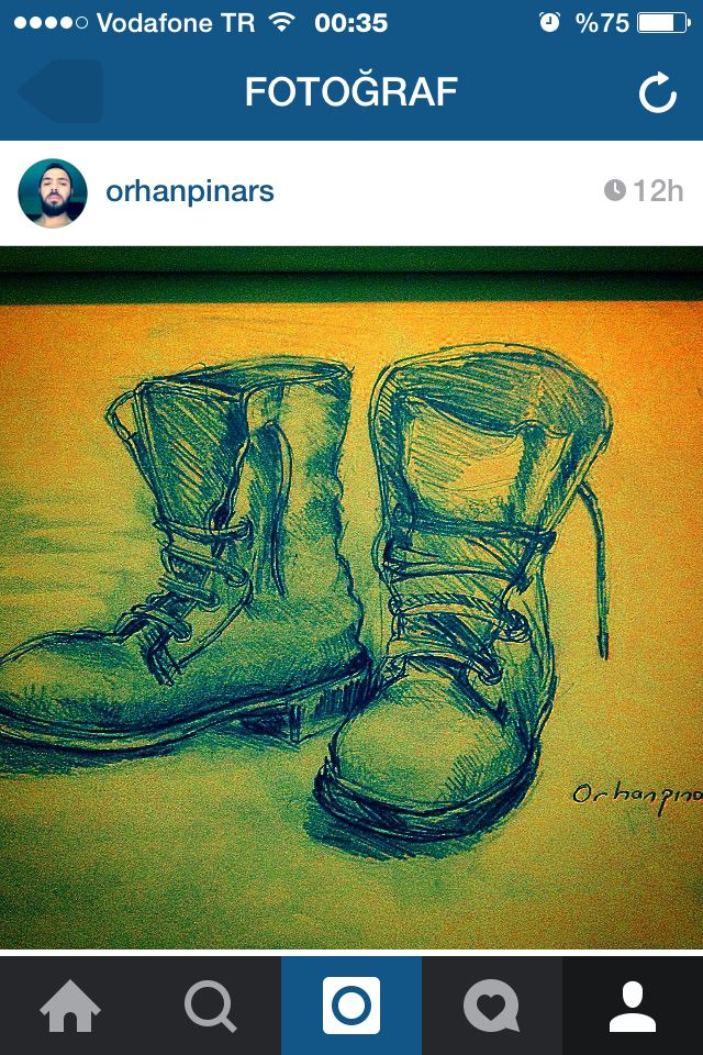 Soldier shoes draw