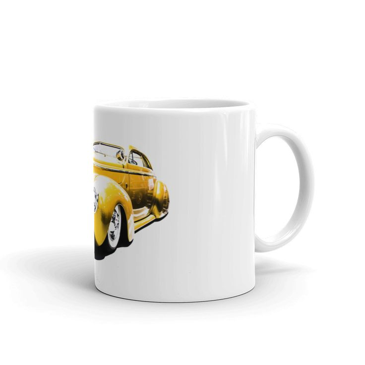 1940 Ford Street Rod - Will Glover Featured Artist - Mug made in the USA