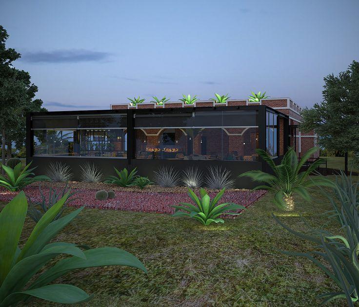 Diseño de Restaurante PLAJE ubicado en Saltillo, Coah.