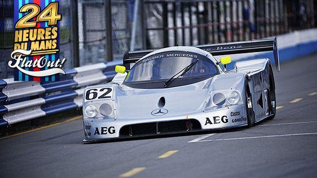 Sauber C9 : o carro que deu à Mercedes-Benz sua primeira vitória em Le Mans depois de 37 anos