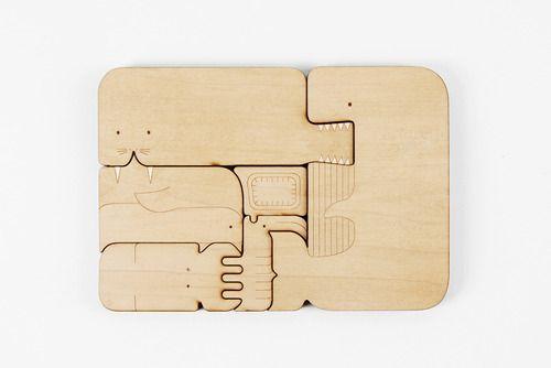 Chomp puzzle books byKelly Holohan - Beautiful!