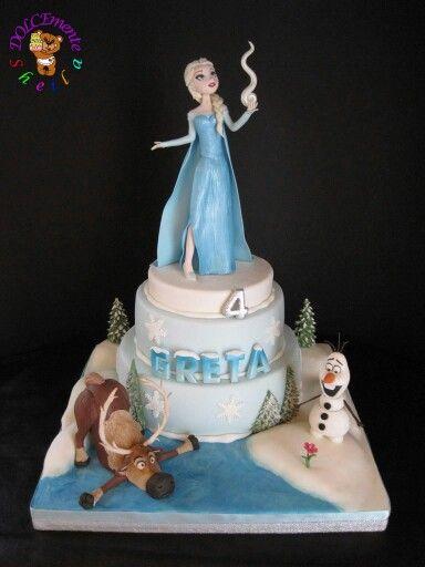 Forzen's cake