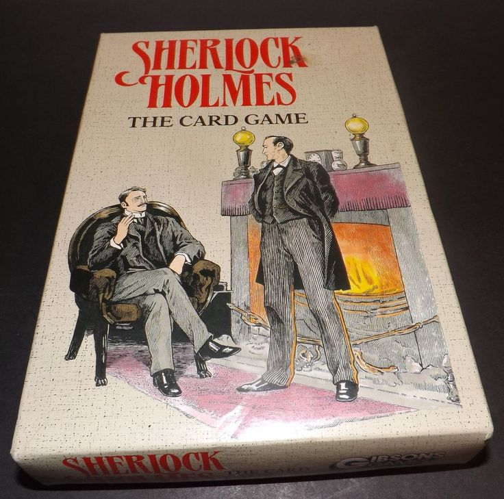 sherlock holmes card game how to play