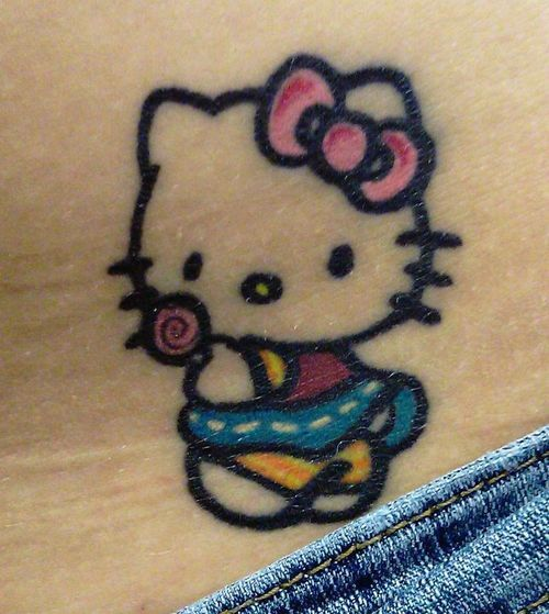 Tattoo Picture At Checkoutmyink Com: 450 Best Images About Hello Kitty Tattoo On Pinterest