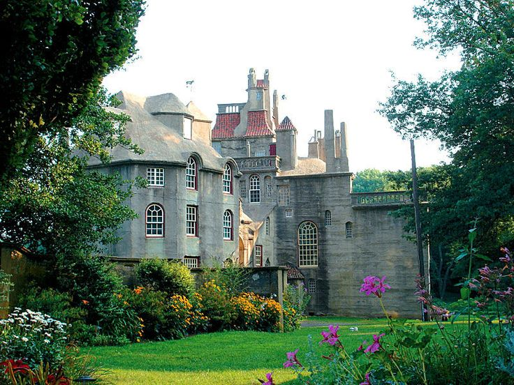 Where & When, Pennsylvania's Travel Guide  |  Articles  |  Historic Homes Of Famous Pennsylvanians II    Fonthill Castle, Doylestown, PA. Photo courtesy of Visit Bucks County    www.whereandwhen.com