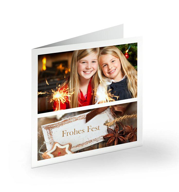 Verschicke die schönsten Weihnachtsgrüße mit CEWE Cards    Hier findest du die unterschiedlichen Formate: http://www.cewe-fotobuch.at/produkte/foto-grusskarten/ #weihnachten