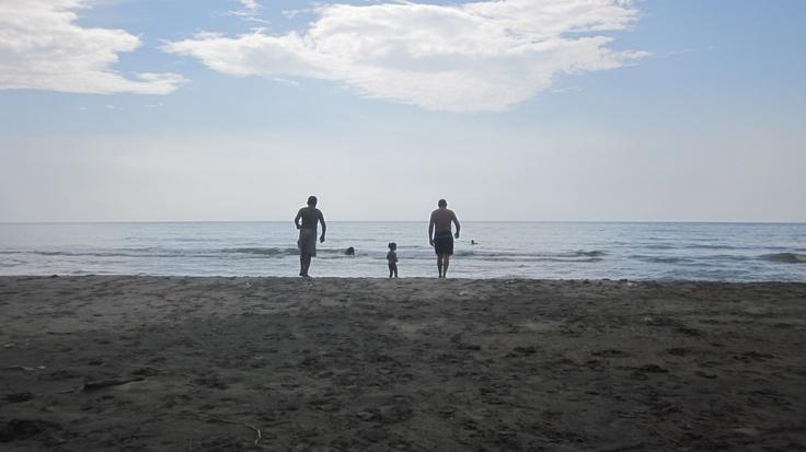 Ahí el horizonte, ahí la vida.