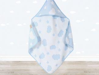 CLOUD Bebek Kundağı Mavi