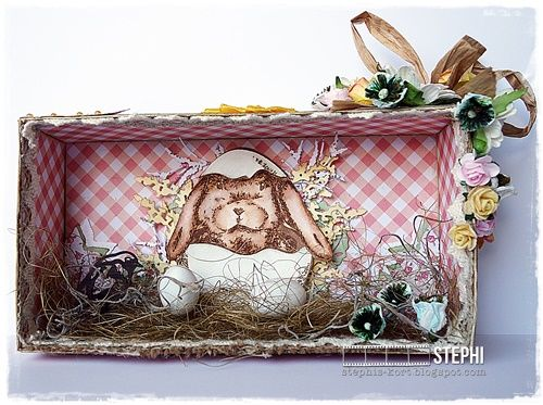 Easter rabbit for Joy