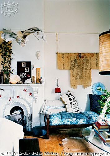 Sibella Court: Kimono, Ideas, Living Rooms, Interiors, Rustic Vintage, Flea Markets, House, Vintage Living