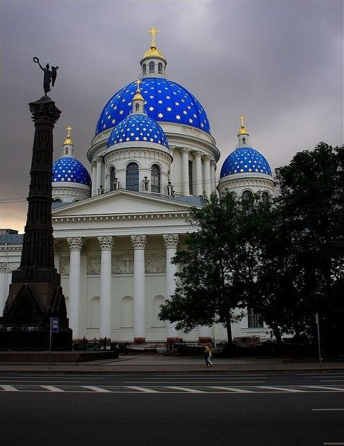 Troitsky Cathedral, St. Petersburg, Russia