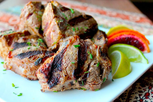 Indian Spiced Grilled Lamb Chops | Low-Carb/ Paleo Meals | Pinterest