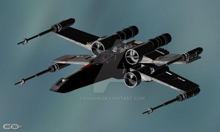 12 Star Wars - XWing by cosovin.deviantart.com on @DeviantArt