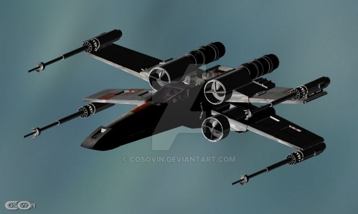 12 Star Wars - XWing by cosovin.deviantart.com on @DeviantArt