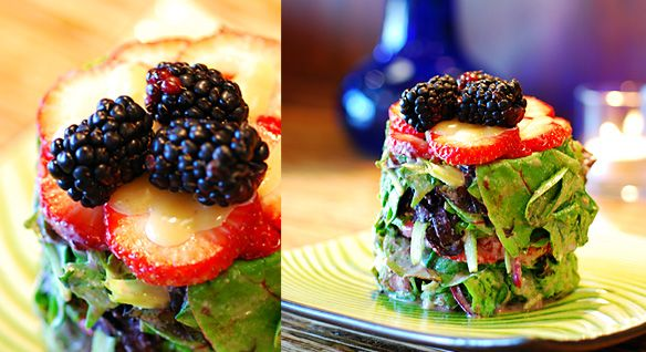 Compressed Summer Berry Salad