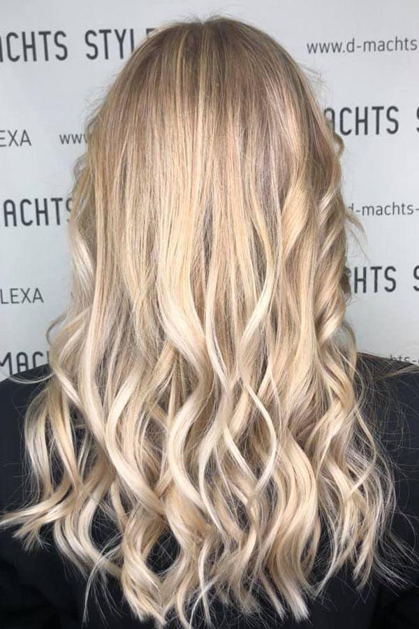 Friseur haarfarbe blond