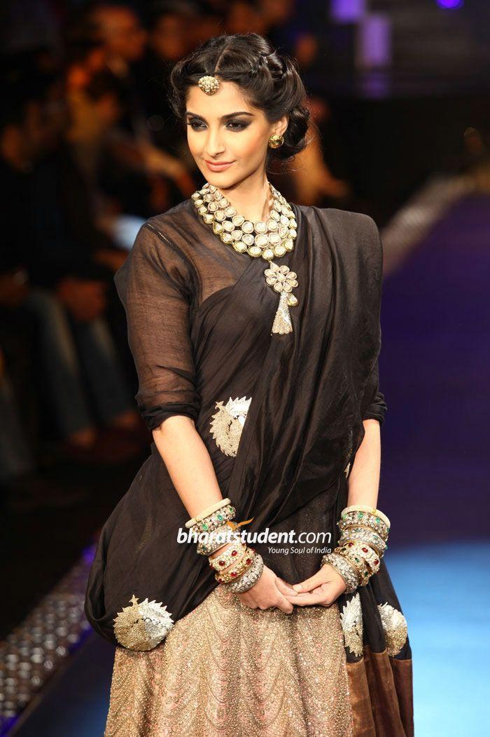 Sonam Kapoor for pc jewellers. kundan jewellery and those big kadas