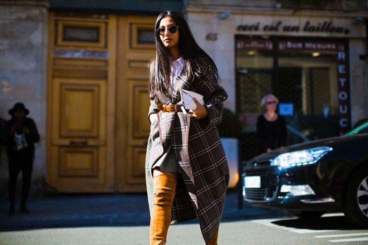 Sokak Stili: 2016 İlkbahar Paris Moda Haftası 1. Gün