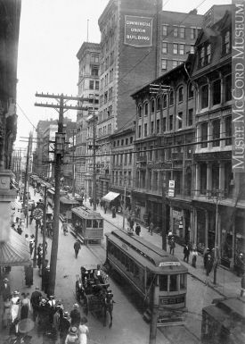 St. James Street, Montreal, QC, about 1910