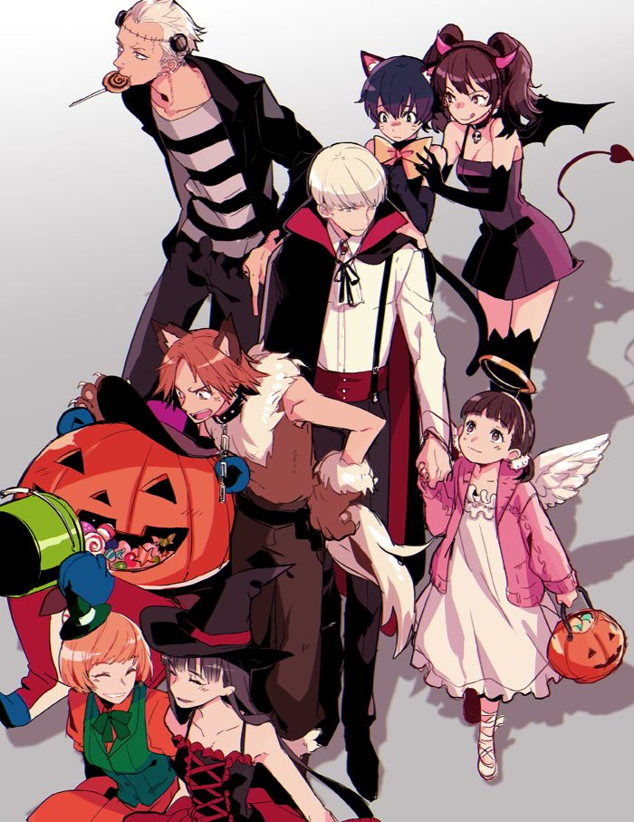 is nanako an angel because she wanted to know about heaven if so i halloween