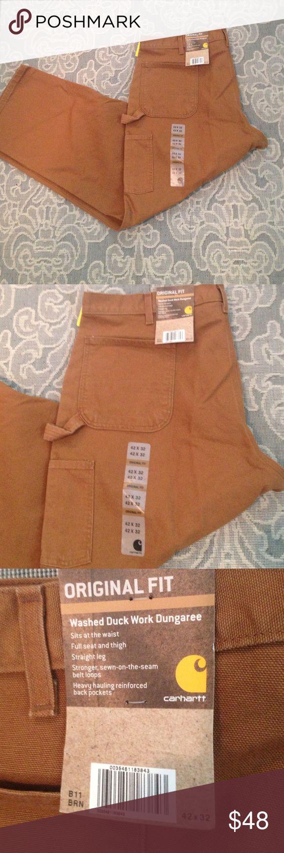 "New Men's Carhartt Work Pant New Men's Carhartt Work Pant , Original Fit , 32"" Inseam Carhartt Pants"