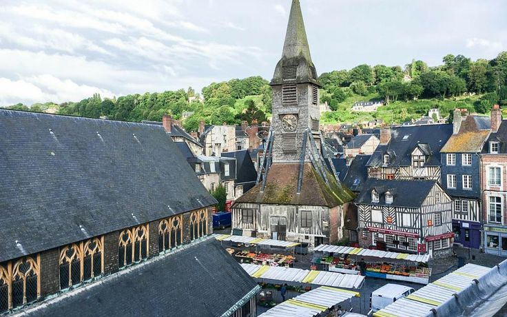 ste catherine church honfleur trip to normandy