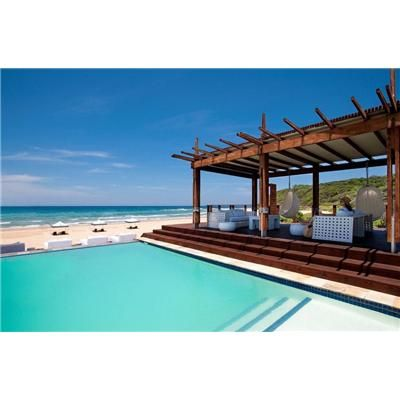 White Pearl Resorts Ponta Mamoli - Pool deck