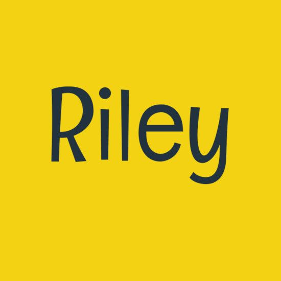Riley - Gender Neutral Baby Names - Photos