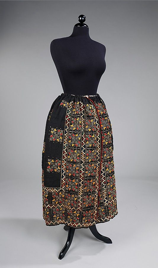 Skirt  Date: fourth quarter 19th century Culture: Romanian