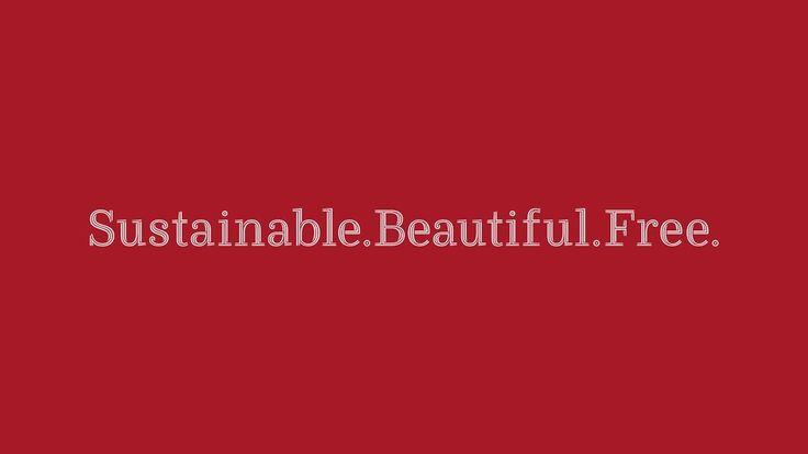 Ryman Eco - The world's most beautiful sustainable font
