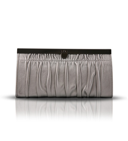 Anna Sui Silver Wallet on glamouronthego.co.uk